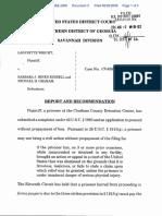 Wright v. Hines et al - Document No. 3