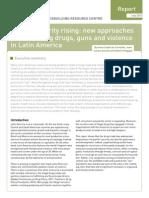 Impacto Guerra a Las Drogas en Violencia América Latina Igarape (Imprimir)
