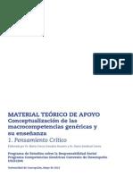 MCG Conceptualizacion(macro competencias genericas)