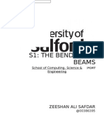 The Bending of Beams Report