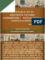 Foro Energia Siglo XXI - UNIMET 2015 - Venezuela Futuro Energético - César Quintini