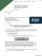 Jackson v. Denver, City and County of et al - Document No. 3