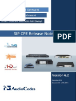 Ltrt-26901 Sip Cpe Release Notes Ver. 6.2
