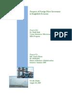 Report on FDI Bangladesh