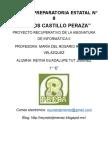Estructuracion Del Proyecto Recuperativo, Extrahordinario...