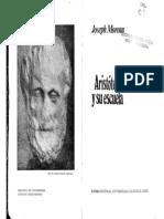 MOREAU - Aristoteles y Su Escuela
