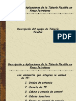 Descripcion de Equipo de Tuberia Flexible