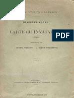 1914 - Coresi, Diaconu - Carte Cu Învăţătură - (1581). Volumul 1 - Textul