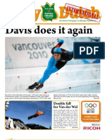 The Daily Dutch International #8 from Vancouver | 02/18/10