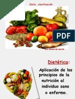 dietas, clasificación