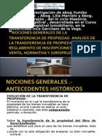 Nociones Generales de La Transferencia de Propiedad