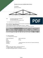 248635244 Memoria de Calculo de Estructura de Techo