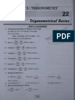 Trigonometrical Ratios