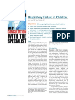 Pediatric Respiratory Failure Review