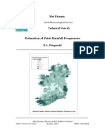 Estimation of Point Rainfall Frequencies TN61