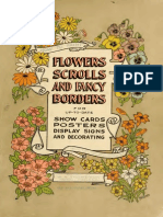 flowers scrolls and fancy borders