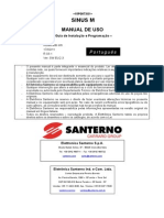 Manual Sinus M Português