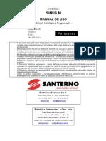 Manual Sinus M Português
