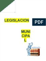 Legislacion Municipal y Creacion de Regiones en El Peru