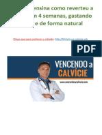 Brasileiro Ensina Como Reverteu a Calvície Em 4 Semanas