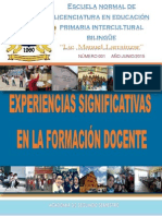 "Revista ""Experiencias Significativas"""