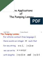 Context Free Pumping Examples