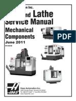 HAAS 96-0283D English Mechanical Service Manual
