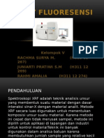 X Ray Fluoresensi