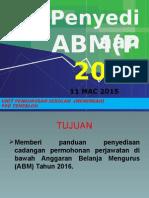 Taklimat Abm 2016
