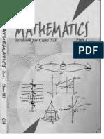 NCERT Class 12 Mathematics Part 1[1]