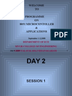 8051 Microcontroller-day2