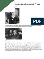 Cum Arăta o Ședință Cu Sigmund Freud