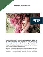 Audrey Hepburn Retratos de Un Icono