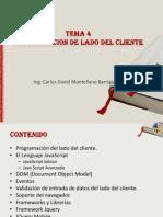 Tema 4. Programacion Del Lado Del Cliente