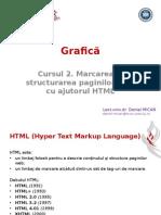 2. Marcarea Si Structurarea Paginilor Web Cu Ajutorul HTML
