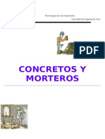 Concretos y Morteros