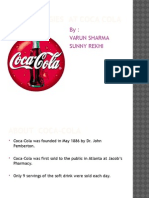 Hr Strategies at Coca Cola by Sunny & Varun