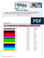 ColorEs HTML 5