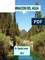 Curso Contraminacion Agua (Derecho) 2014