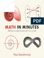 Math in Minutes 200 Key Concepts Explained in an I