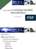 Ch3 - AL Machine Organization