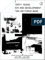 FORTY YEARS OF RESEARCH AND DEVELOPMENT AT GRIFFISS AIR FORCE BASE
