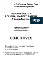 Polytrauma - A Team Approach