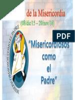 Logo y Oración Jubileo de La Misericordia