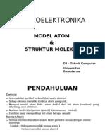 1. Model Atom Dan Struktur Molekul