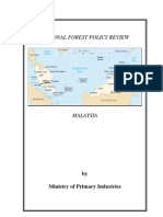 national forest policy review-malaysia