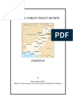 national forest policy review-pakistan