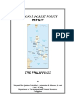 national forest policy review-philippines