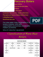 Waste Heat Boiler part 1