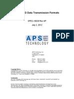 Data Transmission Formats